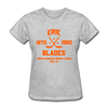 Erie Blades Dated Women's T-Shirt (NAHL) - heather gray