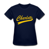 Charlotte Clippers Logo Women's T-Shirt (EHL) - navy