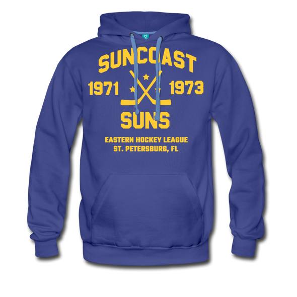 Suncoast Suns Double Sided Premium Hoodie (EHL) - royalblue