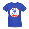 World Hockey Association Logo Women's T-Shirt (WHA) - royal blue