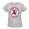 Rhode Island Eagles Logo Women's T-Shirt (EHL) - heather gray