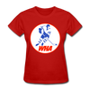 World Hockey Association Logo Women's T-Shirt (WHA) - red