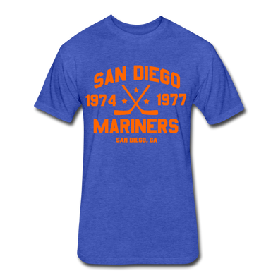 San Diego Mariners Dated T-Shirt (WHA) - heather royal