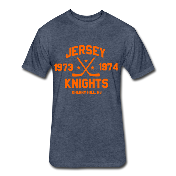 Jersey Knights Dated T-Shirt (WHA) - heather navy