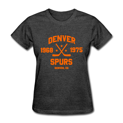Denver Spurs Dated Women's T-Shirt - heather black