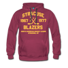 Syracuse Blazers Double Sided Premium Hoodie (NAHL) - burgundy
