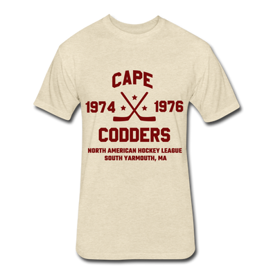 Cape Codders Dated T-Shirt (NAHL) - heather cream