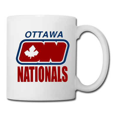 Ottawa Nationals Mug (WHA) - white
