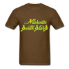 Nashville South Stars Text Logo T-Shirt (CHL) - brown