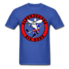 Albuquerque Six Guns Text Logo T-Shirt (CHL) - royal blue