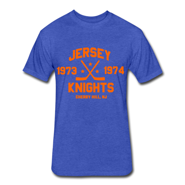 Jersey Knights Dated T-Shirt (WHA) - heather royal