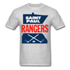 Saint Paul Rangers Logo T-Shirt (CHL) - heather gray