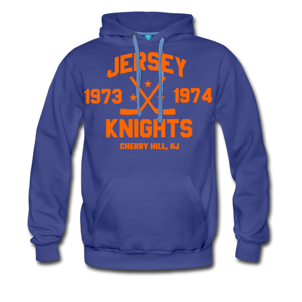 Jersey Knights Double Sided Premium Hoodie (WHA) - royalblue