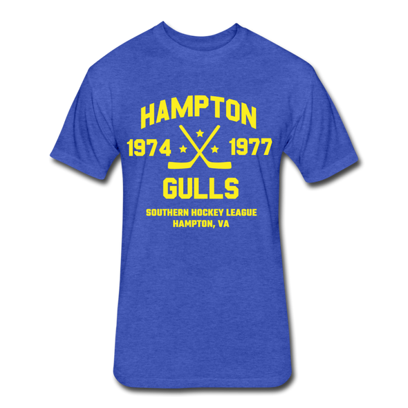 Hampton Gulls Dated T-Shirt (SHL) - heather royal