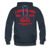 Long Island Ducks Double Sided Premium Hoodie (EHL) - navy