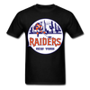 New York Raiders Logo T-Shirt (WHA) - black