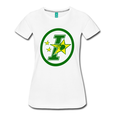 Iowa Stars Logo Women's Shirt (CHL) - white