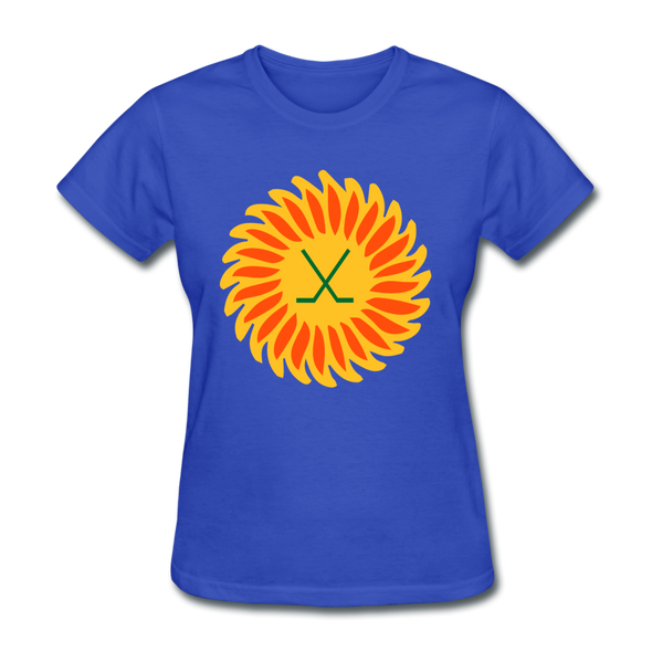 Suncoast Suns Logo Women's T-Shirt (EHL & SHL) - royal blue