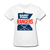Saint Paul Rangers Women's Logo T-Shirt (CHL) - white