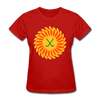 Suncoast Suns Logo Women's T-Shirt (EHL & SHL) - red