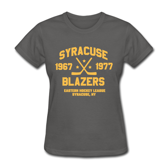 Syracuse Blazers Dated Women's T-Shirt (EHL) - charcoal