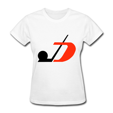 Jersey Hockey Club Logo Women's T-Shirt (EHL) - white