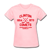 Clinton Comets Dated Women's T-Shirt (EHL) - pink