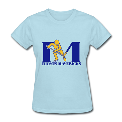 Tucson Mavericks Logo T-Shirt (CHL) - powder blue