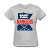 Saint Paul Rangers Women's Logo T-Shirt (CHL) - heather gray