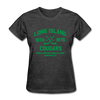 Long Island Cougars Dated Women's T-Shirt (NAHL) - heather black