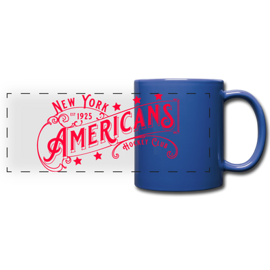 New York Americans Mug - royal blue