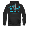 Atlantic City Sea Gulls Premium Double Sided Hoodie (EHL) - black