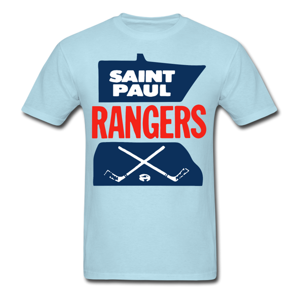 Saint Paul Rangers Logo T-Shirt (CHL) - powder blue