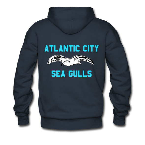 Atlantic City Sea Gulls Premium Double Sided Hoodie (EHL) - navy