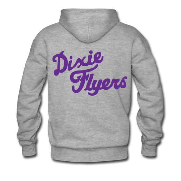 Nashville Dixie Flyers Double Sided Premium Hoodie (EHL) - heather gray