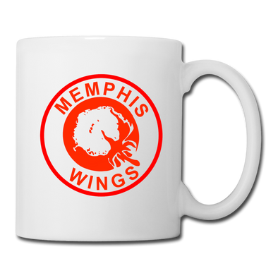 Memphis Wings Mug - white