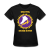New York Golden Blades Logo Women's T-Shirt (WHA) - black
