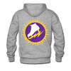 New York Golden Blades Double Sided Premium Hoodie (WHA) - heather gray