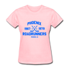 Phoenix Roadrunners Dated Women's T-Shirt - pink