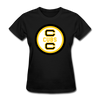 Cape Cod Cubs Logo Women's T-Shirt (EHL & NAHL) - black