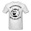 Richmond Wildcats Logo T-Shirt (SHL) - light heather grey