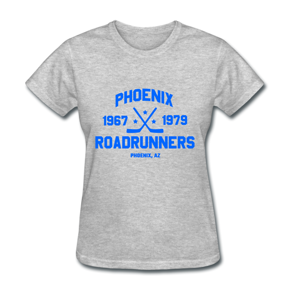 Phoenix Roadrunners Dated Women's T-Shirt - heather gray
