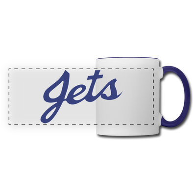 Johnstown Jets Mug (EHL & NAHL) - white/cobalt blue