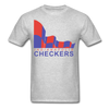 Indianapolis Checkers Logo T-Shirt (CHL) - heather gray