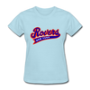 New York Rovers Logo Women's T-Shirt (EHL) - powder blue