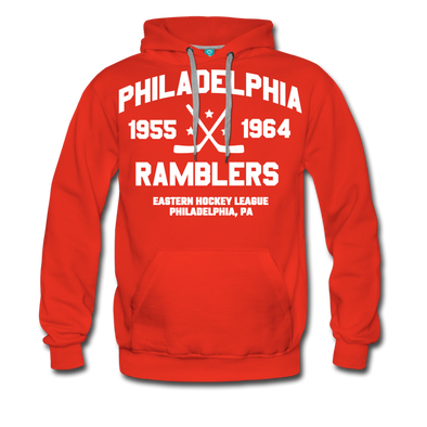 Philadelphia Ramblers Double Sided Premium Hoodie (EHL) - red