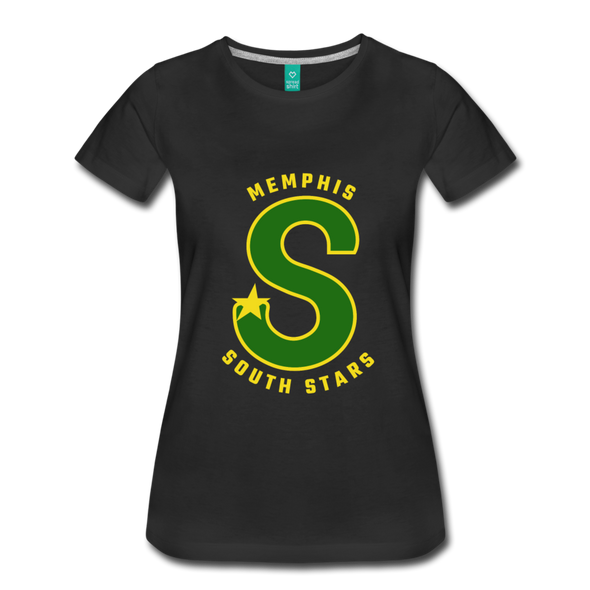 Memphis South Stars Women's T-Shirt (CHL) - black