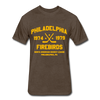 Philadelphia Firebirds Dated T-Shirt (NAHL) - heather espresso