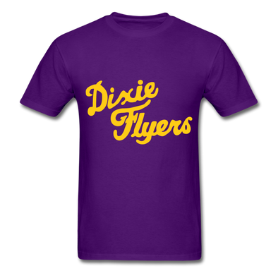 Nashville Dixie Flyers Logo T-Shirt (EHL) - purple