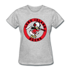 Long Island Ducks 1960s Logo Women's T-Shirt (EHL) - heather gray